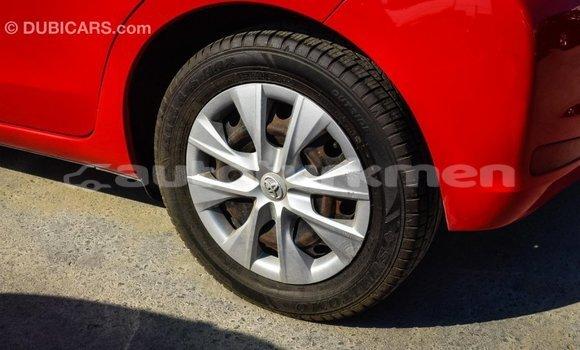 Buy Import Toyota Yaris Red Car in Import - Dubai in Ahal